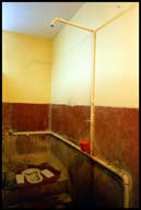 The bathroom at St. Geoges. Alleppey   7953 bytes